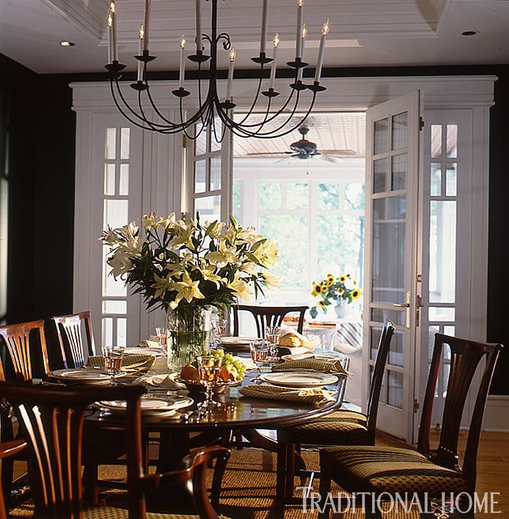 25 years of beautiful dining rooms traditional home for Beautiful dining rooms
