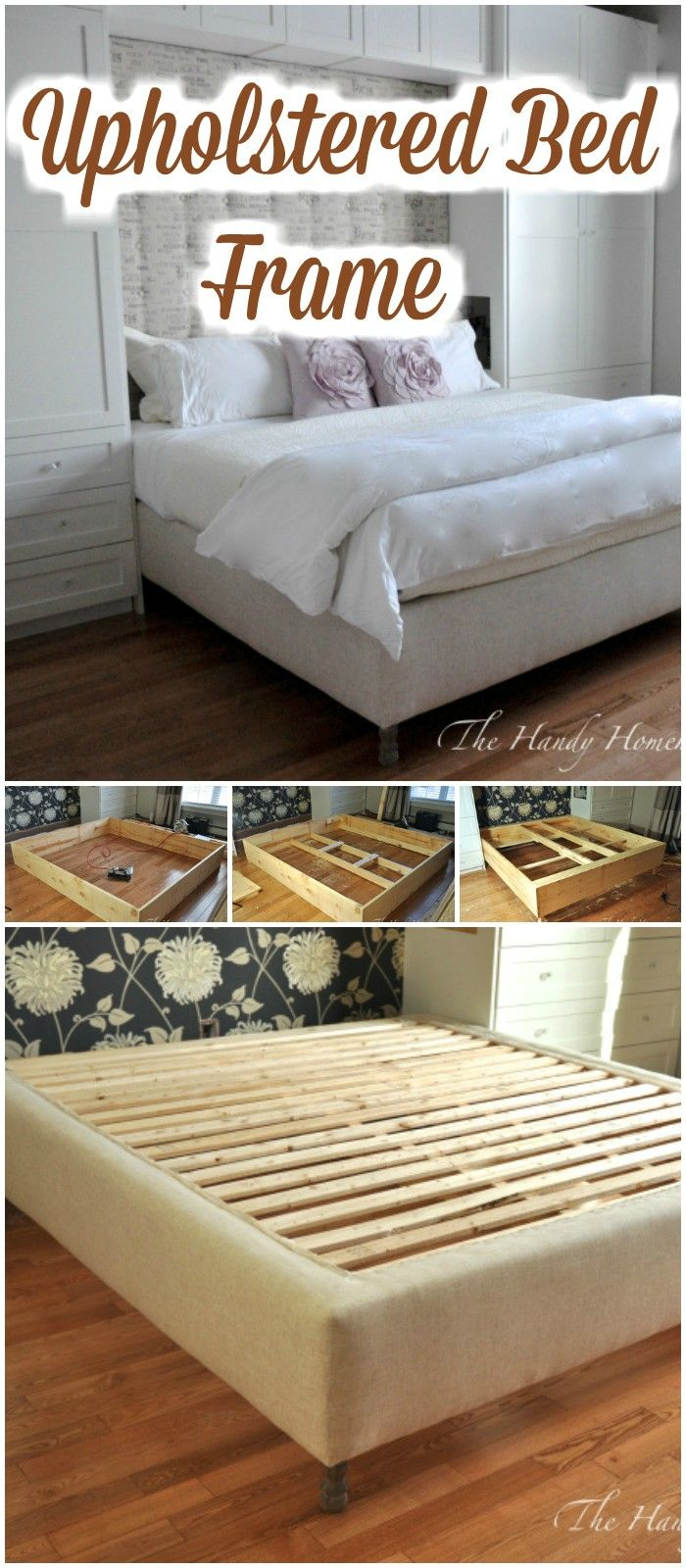 Upholstered Bed Frame:I have presented a list of DIY bed frame to make your bedroom fabulous. All of them are easy and cheap and fit your budget.