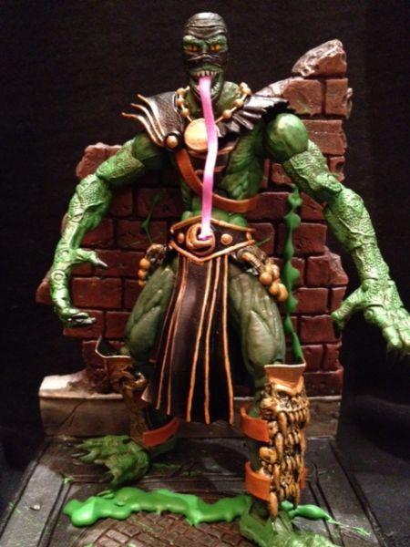 Reptile From Mortal Kombat | Mortal Kombat Reptile (Mortal Kombat) Custom Action Figure