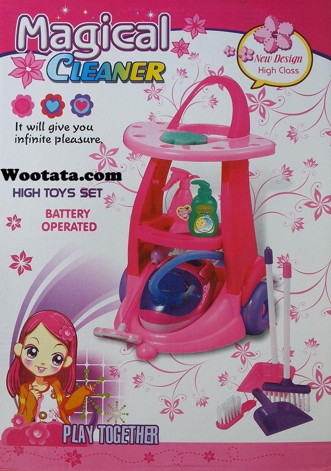 Mainan Terbaru Untuk Anak Perempuan Magical Cleaner