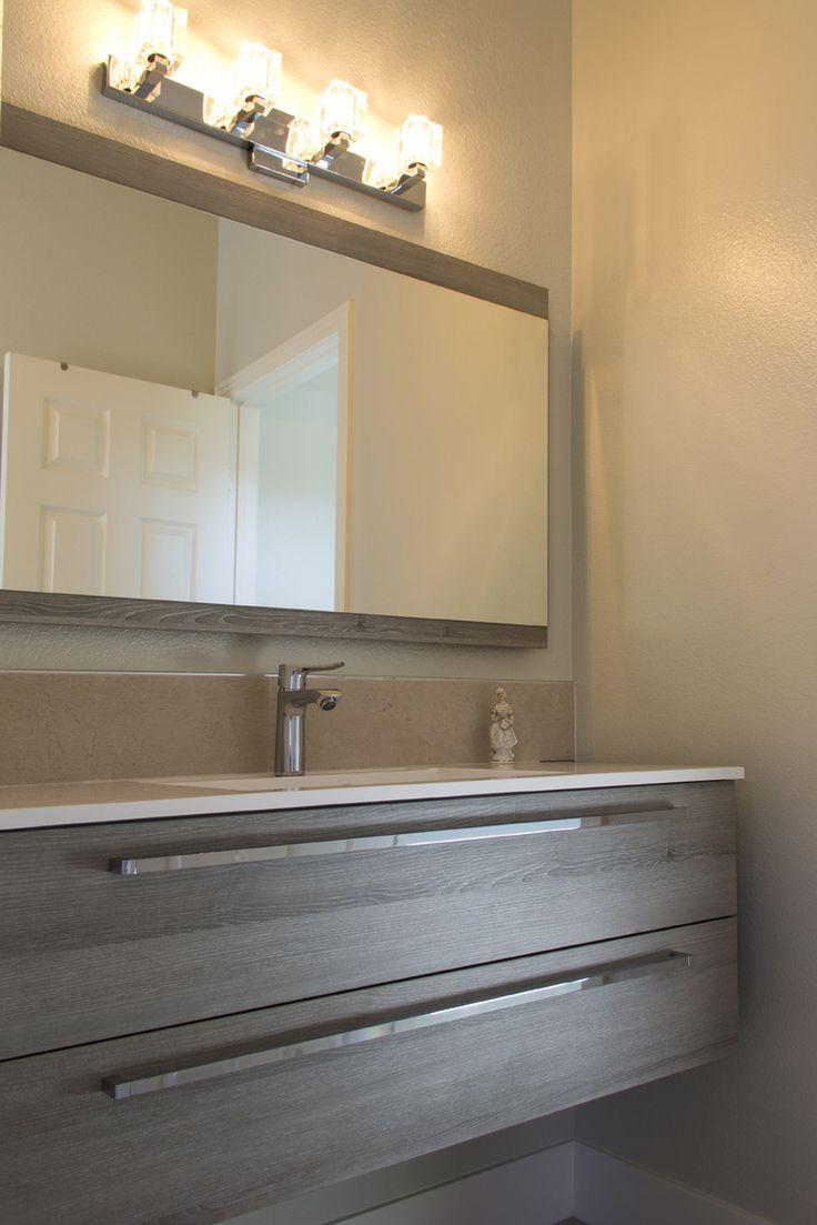 Simi Valley Project   Modern Bathroom Design   Badea   Germany Vanity Idea