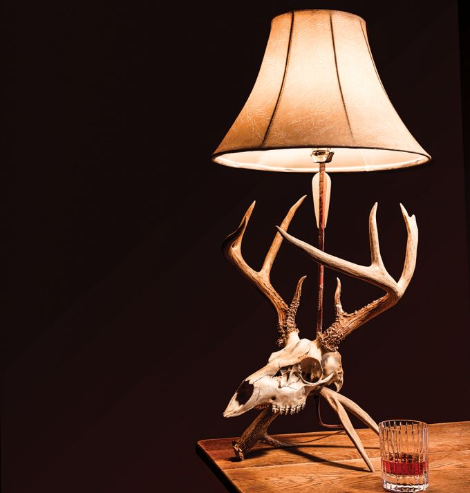 Project: How to Make Your own Euro Skull Lamp | Field & Stream