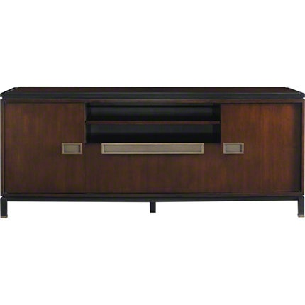 Baker furniture rowe media console 6667 lexicon for Affordable furniture in baker