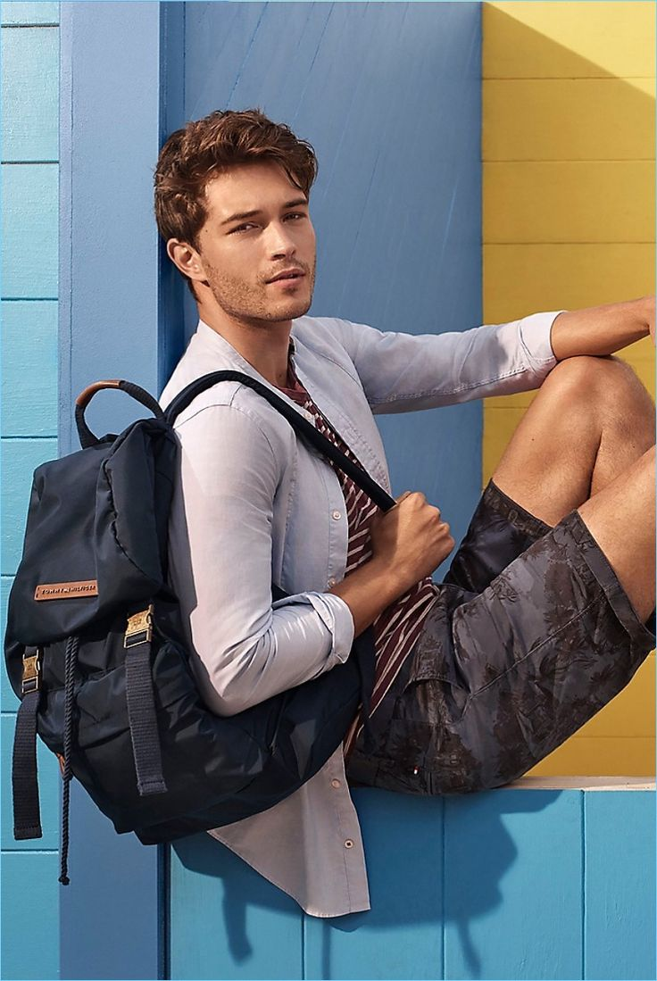 Cool and Tonal: Francisco Lachowski wears Tommy Hilfiger