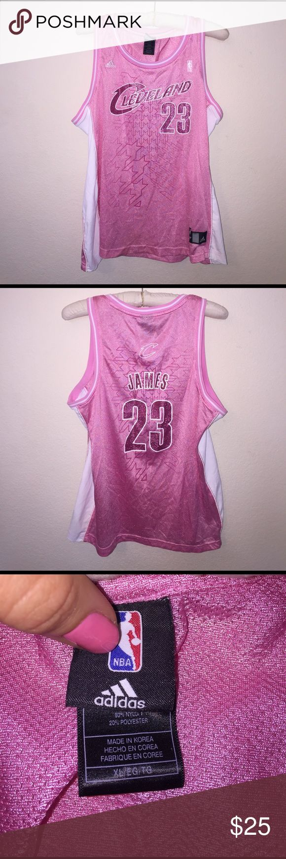 Lebron James Jersey Size XL, great condition! Perfect if your going to a game! Feel free to ask any questions! NBA Tops