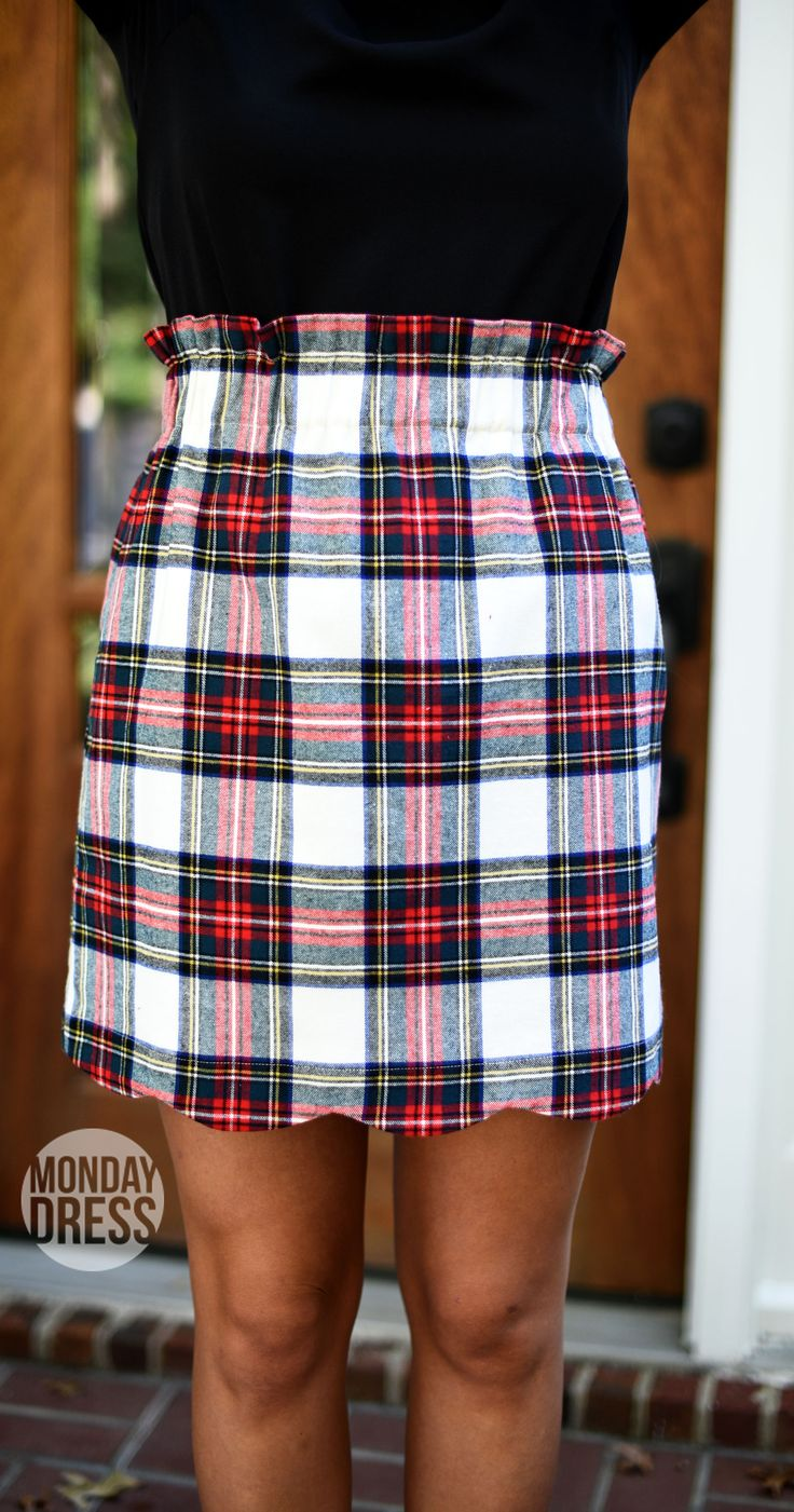 Cheery And Bright Skirt in Ivory | Monday Dress
