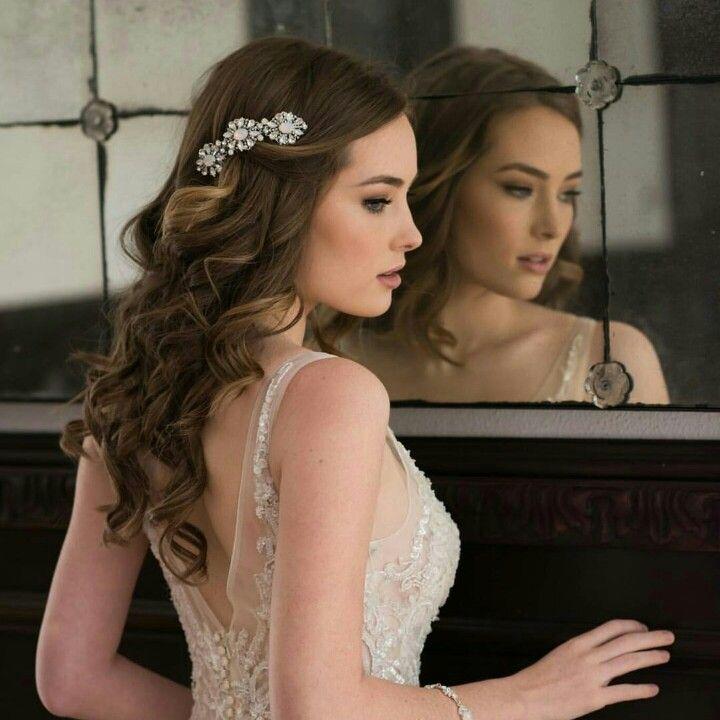 Romantic Bridal Hair  @twotoneumbrella - Hair