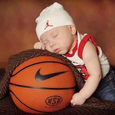 @Leah Bergsten please tell me you have a baby basketball outfit!