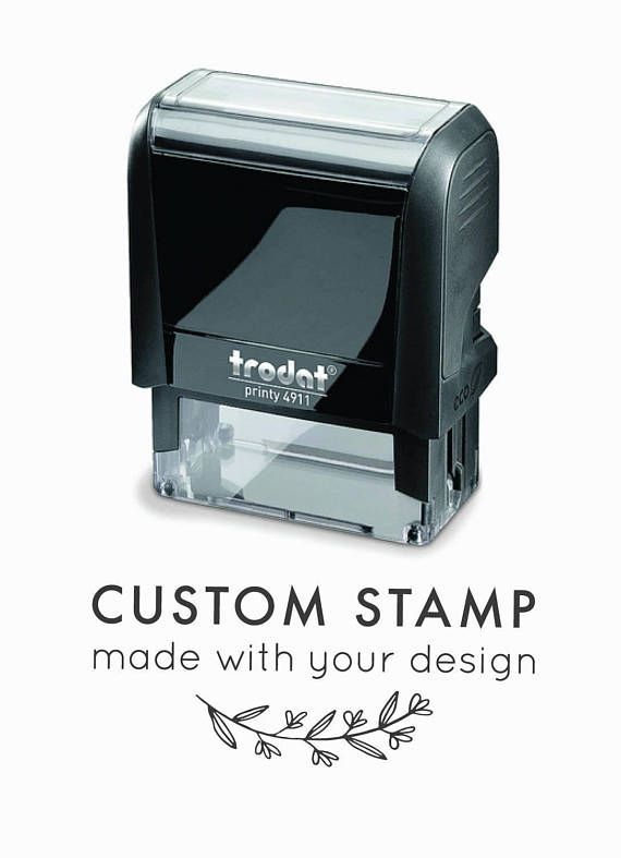 Custom Self Inking Stamp Logo
