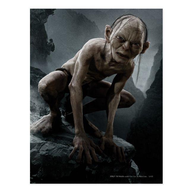 Le Seigneur des Anneaux-Gollum 1//4 Scale Action Figure