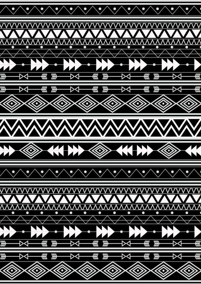 Aztec Art Print Aztec Tribal Native Wallpaper Background Iphone Tribal Print Wallpaper Tribal Pattern Wallpaper Aztec Art