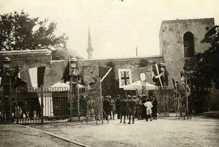 İşgal yıllarında Gülhane Parkı