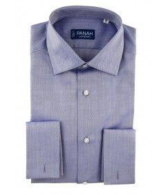 Blue Luxury Twill  Shirt