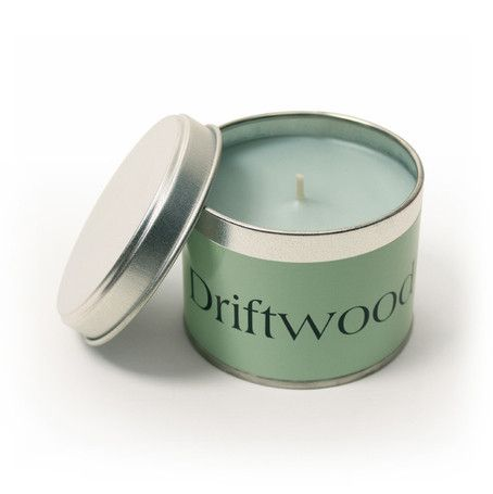 Driftwood Coordinate Tin by Pintail Candles