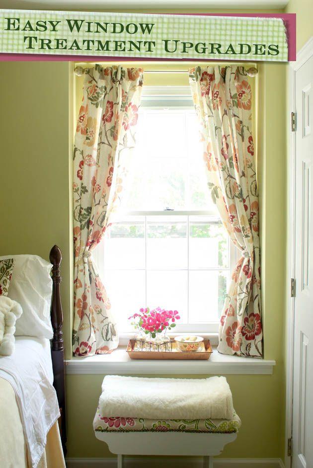 25 Best Ideas About Easy Window Treatments On Pinterest