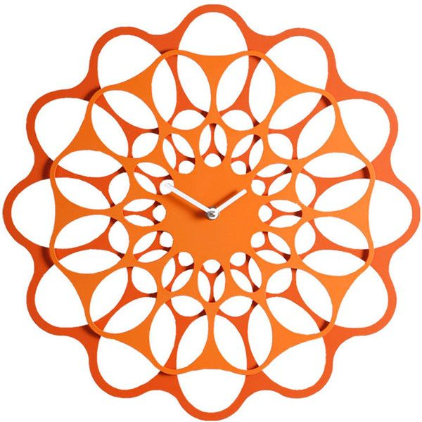 Diamantini Domeniconi Small Wall Clock Orange Orange 130 Liked On