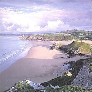 Very beautiful beach @ Swansea, UK