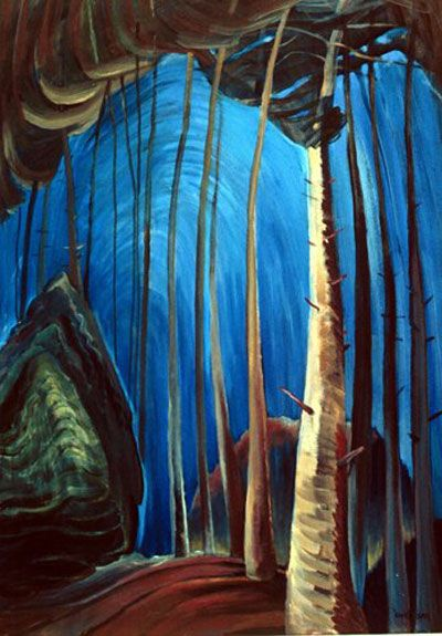 Blue Sky - Emily Carr - 1932 - WikiArt.org - the encyclopedia of painting