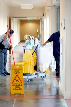 Steps to start commercial cleaning business
