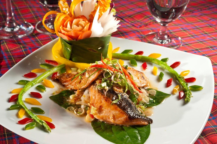 Enjoy our wide range of fresh seafood in both Thai and International cuisine. [Koh Chang]
