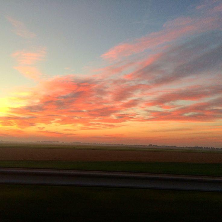 Beautiful red Sundown!