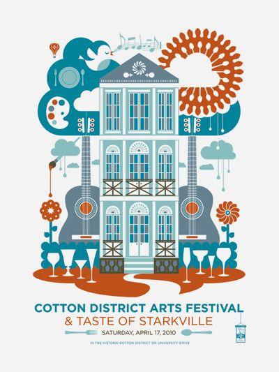 cotton district arts festival: Books Covers, Art Festivals, Festivals Posters, Covers Books, Posters Design, District Art, Graphics Design, Design Layout, Jude Landri