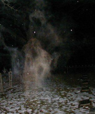 This photograph was taken by Chad Zumwalt who is the lead investigator of N.W.P.H. Northwest Phantom Hunters. It was taken in 2007 in Underwood Washington.