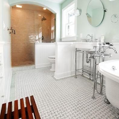 Traditional bathroom 1920 39 s bathroom design pictures for 1920 bathroom designs