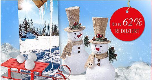 Endecken Sie jetzt unsere neuen Angebote des Monats Dezember! Bis zu 62% reduzierte Winter-, Silvester- und Sale-Dekoartikel warten auf Sie! Greifen Sie schnell zu solange der Vorrat reicht! #Sale #Angebote #Winterdeko #Silvesterdeko #Aktionsverkauf #Schlussverkauf https://www.decowoerner.com/de/Aktuelles-11321/Angebote-des-Monats-11492.html