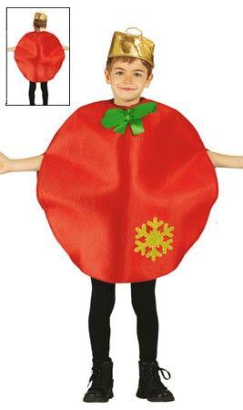 Disfraz de Bola Navidad infantil