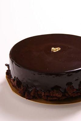 Cuisine maison, d'autrefois, comme grand-mère: Recette facile de gâteau au chocolat pâtissier (style charlotte)