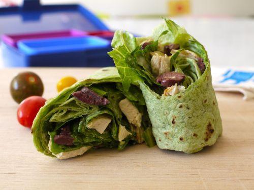 Chicken Caesar Wrap | Weelicious