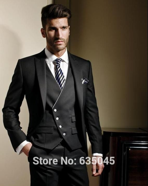 Cheap suit blazer, Buy Quality suit checkered directly from China blazer 2 Suppliers:  New Arrival 2016 Custom Made Mens Slim Suits Black Men Suits Tuxedos Men 3 Piece(Jacket+Pants+Vest) Mens Blazer   suit&