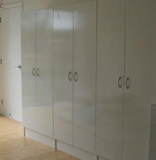 Storage cupboards in Beautea HQ