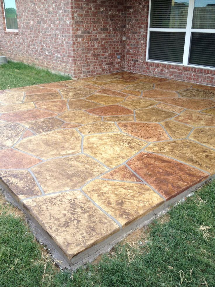 Concrete And Nail Polish Layering With Zoya Belinda Maisie: 29 Best Images About Stained Concrete Patios On Pinterest