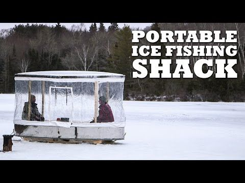 Ready for a Broject? Try a DIY Ice Fishing Shack [VIDEO] - Wide Open Spaces