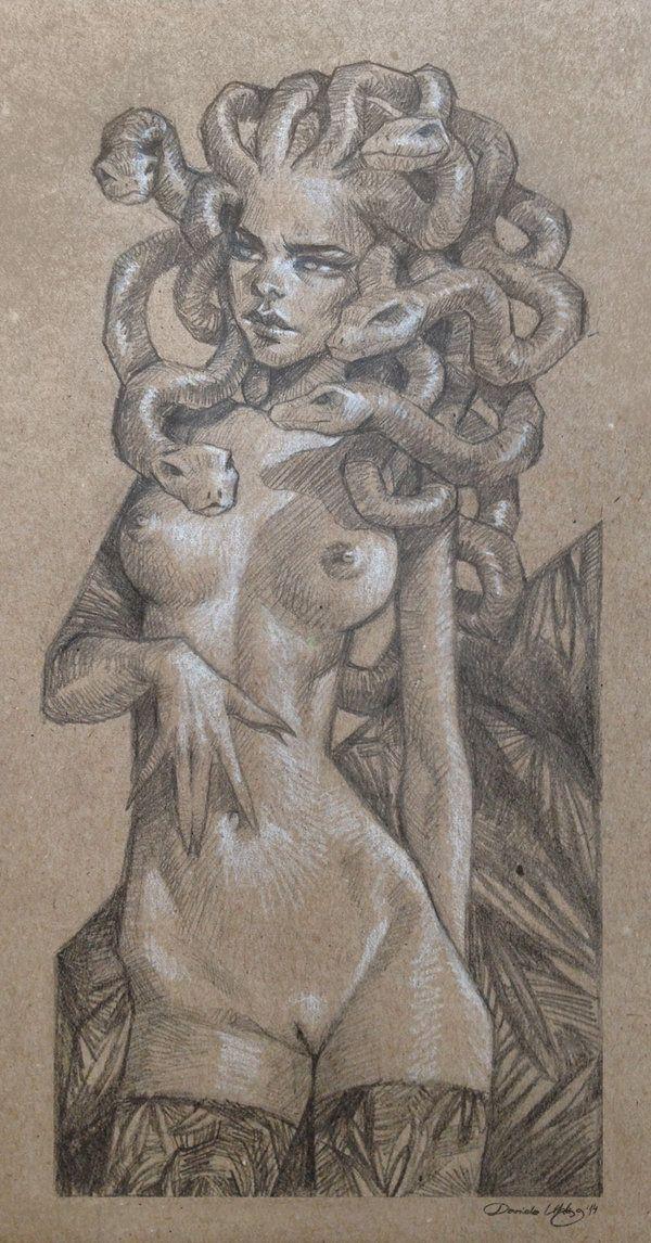 Medusa by DanielaUhlig on deviantART