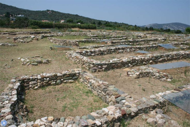 Die archäologischen Ausgrabungen von Thermi auf der griechischen Insel Lesbos