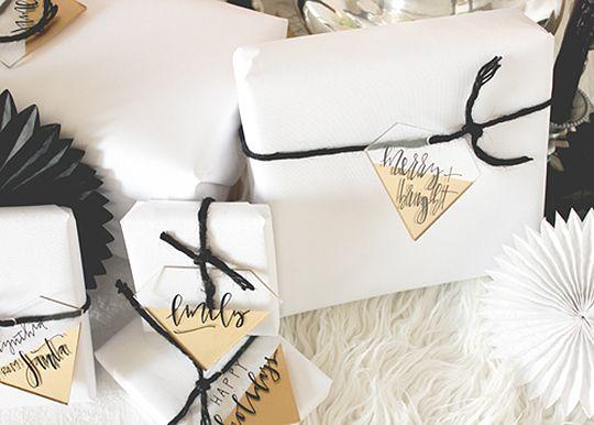 Acrylic Gift Tags
