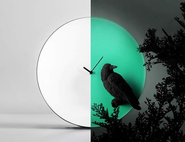 Haoshi Design Moon Clock