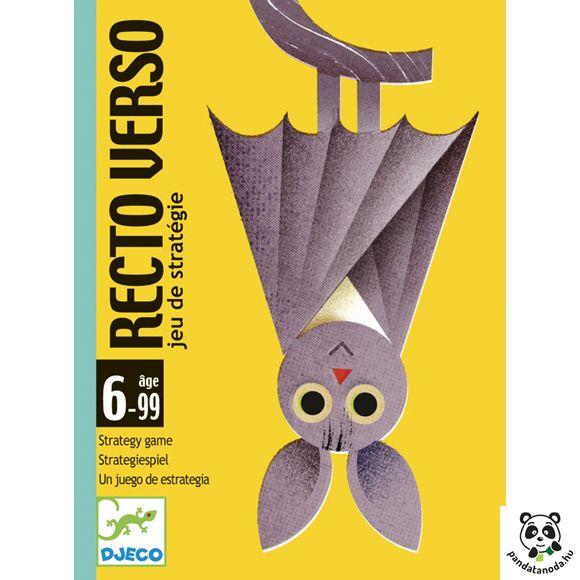Recto verso izgalmas kétoldalú kártyajáték Djeco | Pandatanoda.hu Játék webáruház