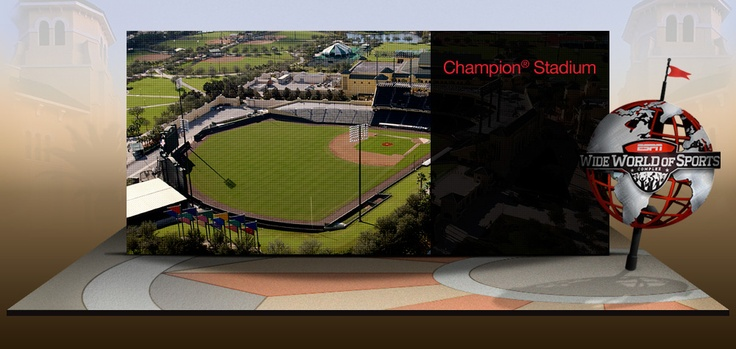 Champion Stadium, Wide Word of Sports Complex in Orlando, home of the Atlanta Braves for spring training