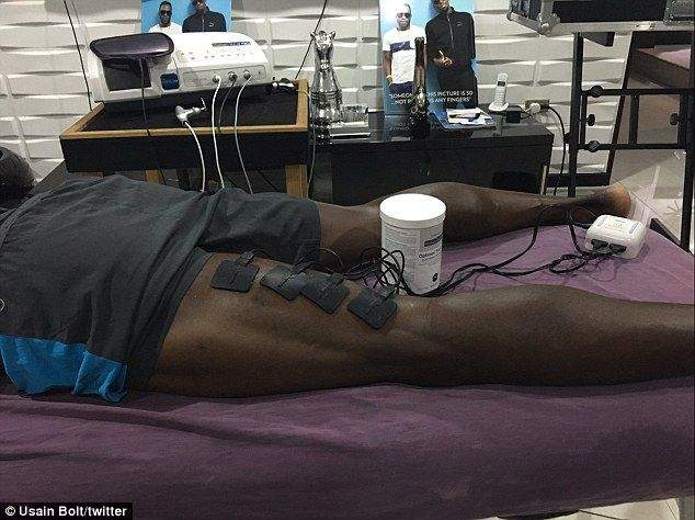 The world record-holder over 100m and 200m took to Twitter to show he was already acting o...