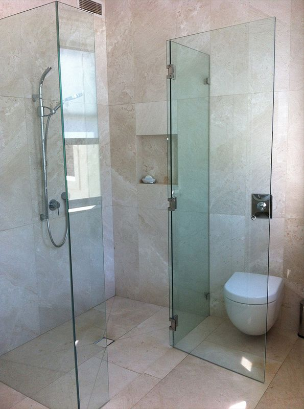 Frameless Glass Custom Shower Screen