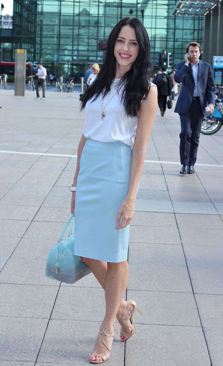 Summer work outfit - City Fashion Inspiration - http://copykitty.co.uk/style-diary-2706-sitc-summer-in-the-city/