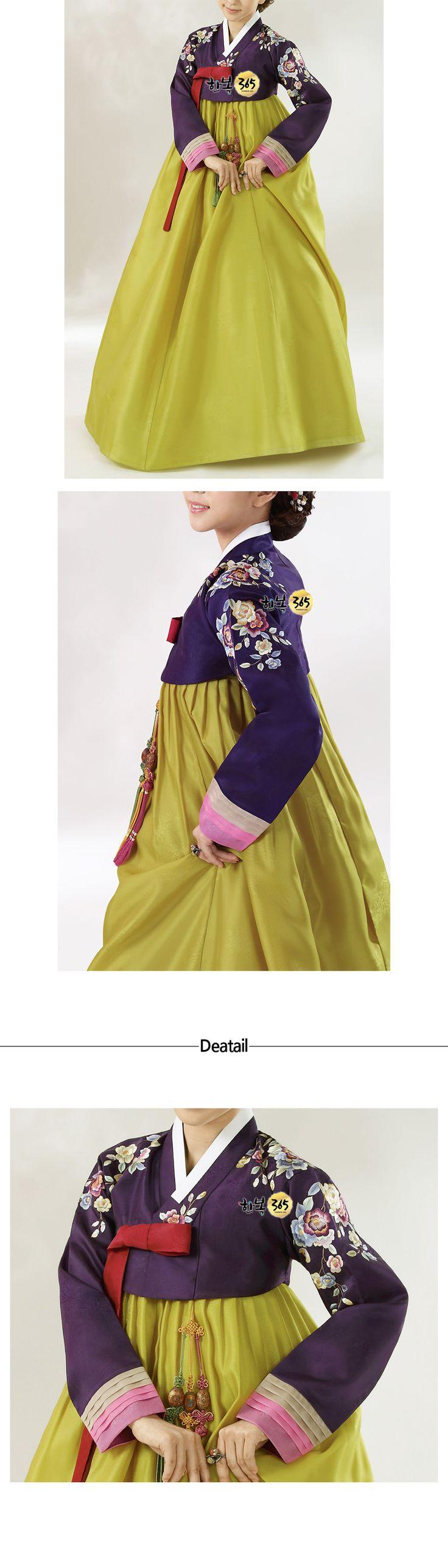 Hanbok-Korean traditional clothes, modernized hanbok for women