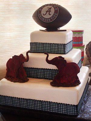 Houndstooth and crimson elephants