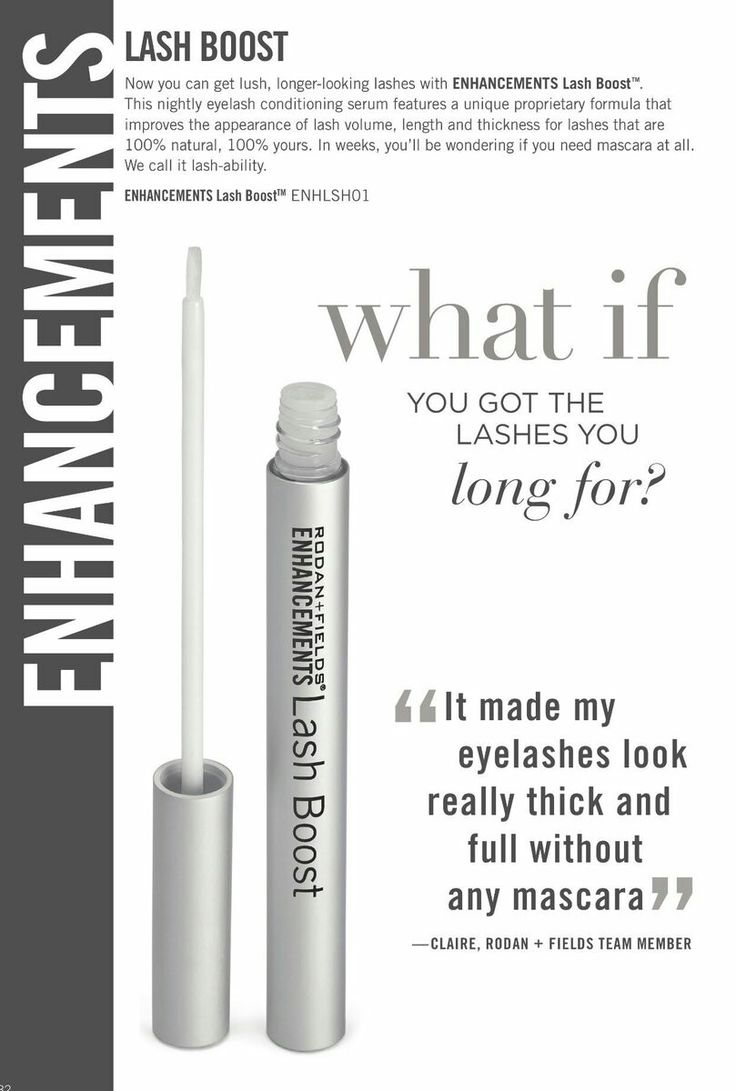 Lash Boost - Rodan + Fields darker, fuller, longer looking lashes.  100% natural 100% yours