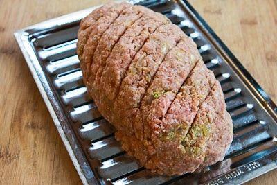 Turkey Pesto Meatloaf Recipe with Tomato Sauce | Recipe
