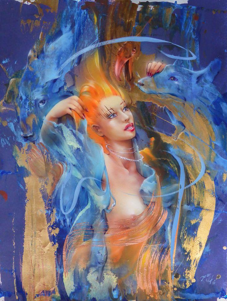 The biest in the beauty - art by Brockerhoff